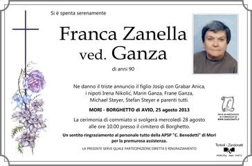 Zanella Franca ved. Ganza