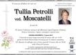 Petrolli Tullia ved. Moscatelli
