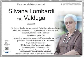 Lombardi Silvana ved. Valduga