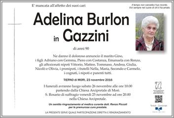Burlon Adelina in Gazzini