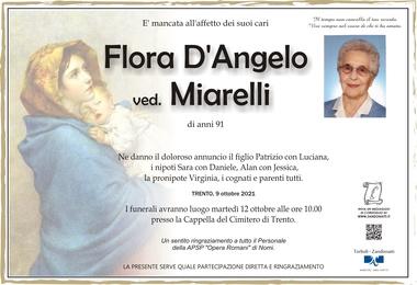D'Angelo Flora ved. Miarelli