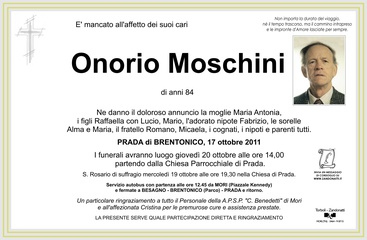 Moschini Onorio