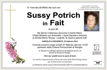 Potrich Sussy in Fait