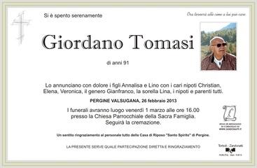Tomasi Giordano