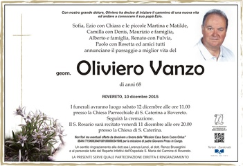 Vanzo Oliviero