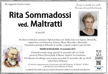 Sommadossi Rita ved. Maltratti