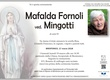 Fornoli Mafalda ved. Mingotti