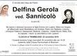 Gerola Delfina ved. Sannicolò
