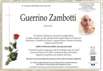 Zambotti Guerrino