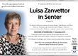 Zanvettor Luisa in Senter