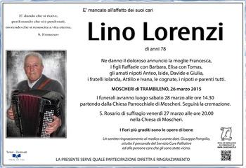 Lorenzi Lino