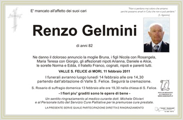 Gelmini Renzo