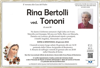 Bertolli Rina ved. Tononi