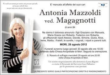 Antonia Mazzoldi ved. Magagnotti