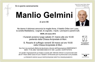 Gelmini Manlio