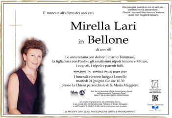 Lari Mirella in Bellone