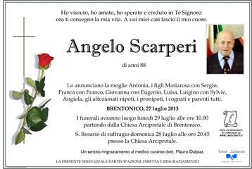 Scarperi Angelo