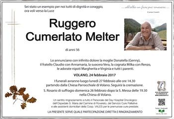 Cumerlato Melter Ruggero