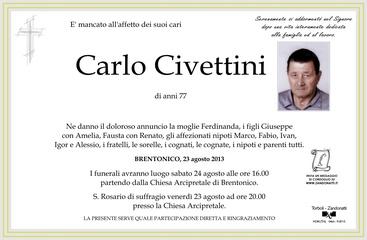 Civettini Carlo