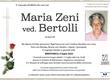 Zeni Maria ved. Bertolli
