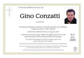 Conzatti Gino