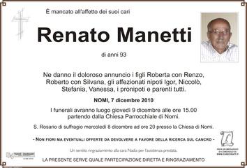 Manetti Renato
