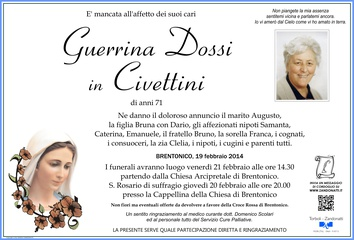Dossi Guerrina in Civettini